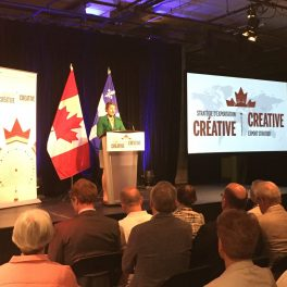 Canada's music publishers welcome Creative Export Strategy based on equal access; will work with government to ensure funding allows global competitiveness, creates jobs and opportunities at home so sector can thrive