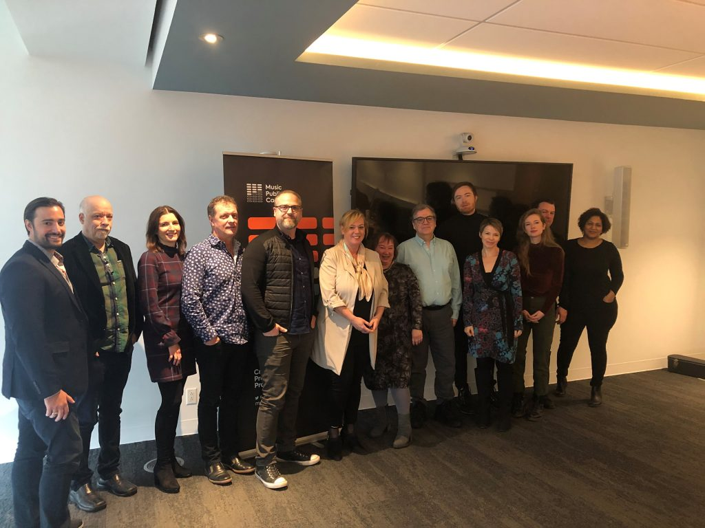 Music Publishers Canada and Minister MacLeod discuss growing Ontario's creative and export-focused music publishing industry